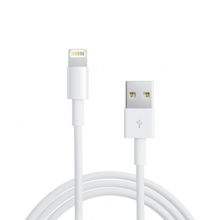 Original Apple Data Cable MD819ZMA Lightning Cable 2 meter Bulk
