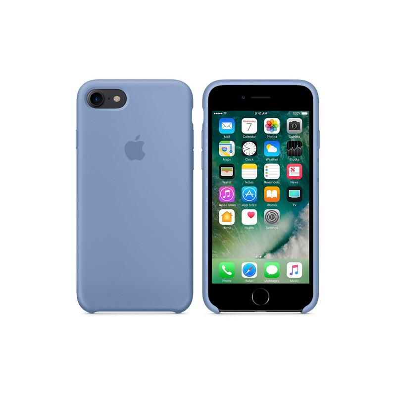 Original Apple Case Hard Silicone iPhone 8 Plus / iPhone 7 Plus Azure Retail