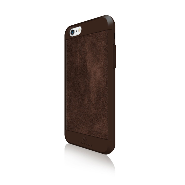 Original Black Rock iPhone 6/6S Material Case Suede Brown