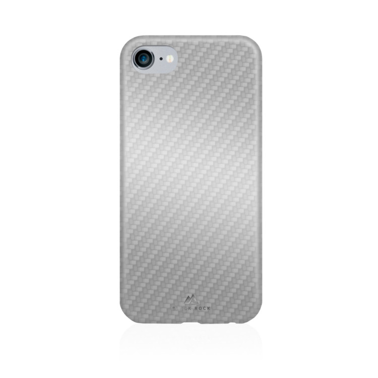 Original Black Rock iPhone 7 Flex Carbon Case Silver