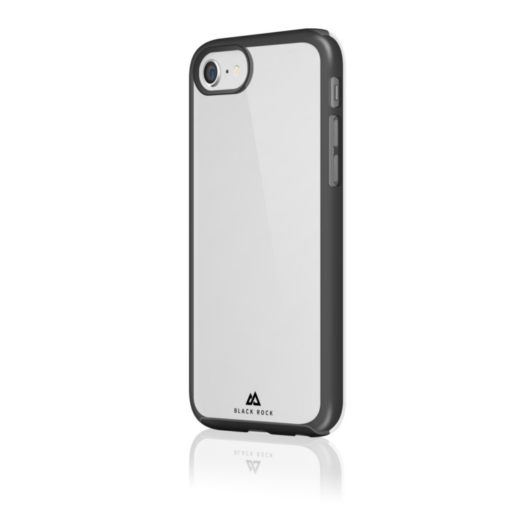 Original Black Rock iPhone 7 Embedded Case Transparent w/ Black