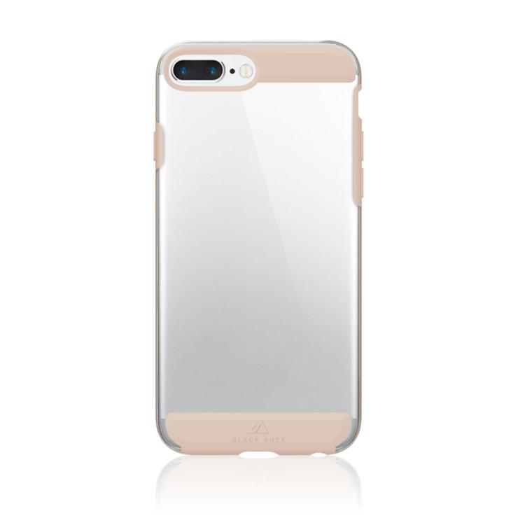 Original Black Rock iPhone 7 Plus / 6/6S Plus.. Air Protect Case Transparent w/ Gold