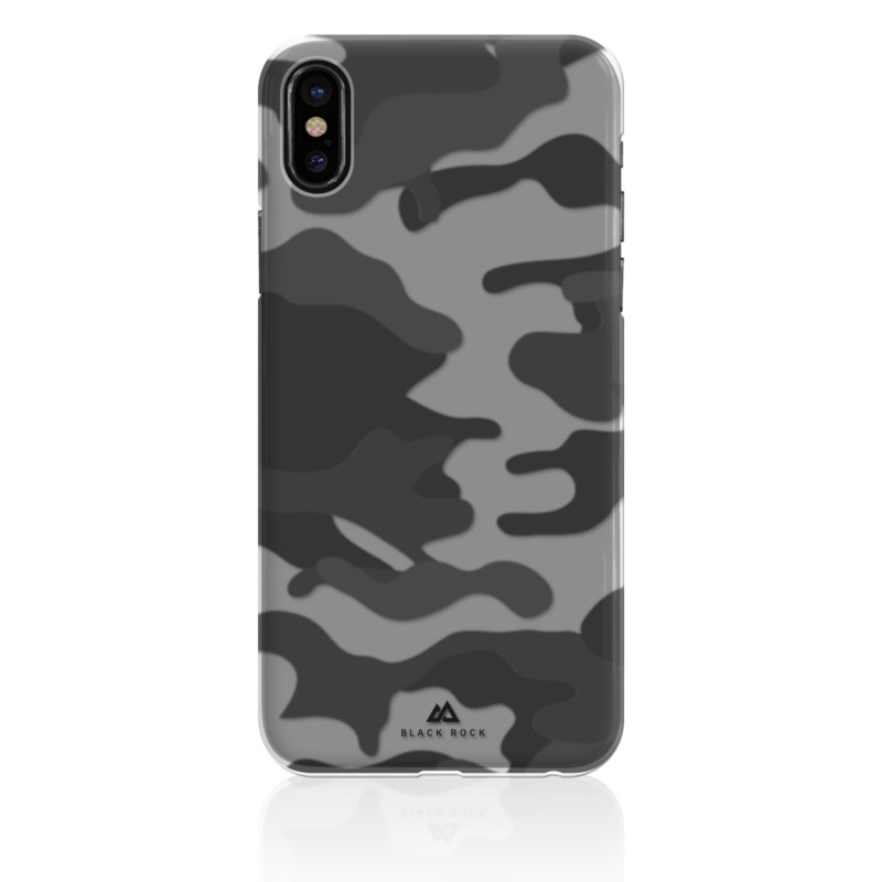 Original Black Rock iPhone X Case Camouflage Black