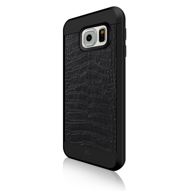 Original Black Rock Galaxy S7 Material Case Croco Black
