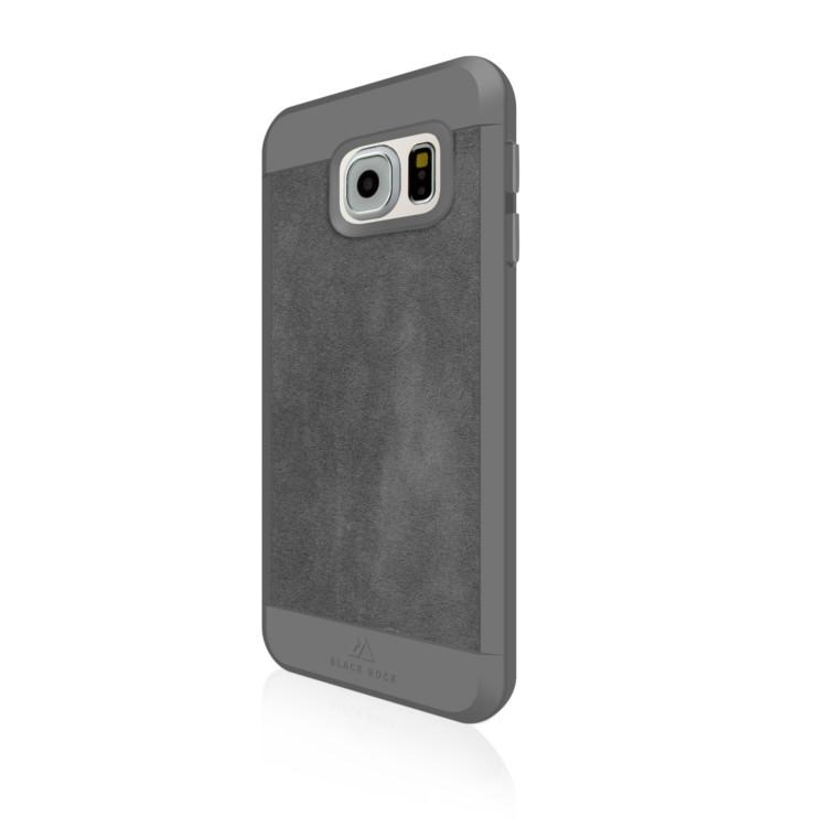 Original Black Rock Galaxy S7 Material Case Suede Grey