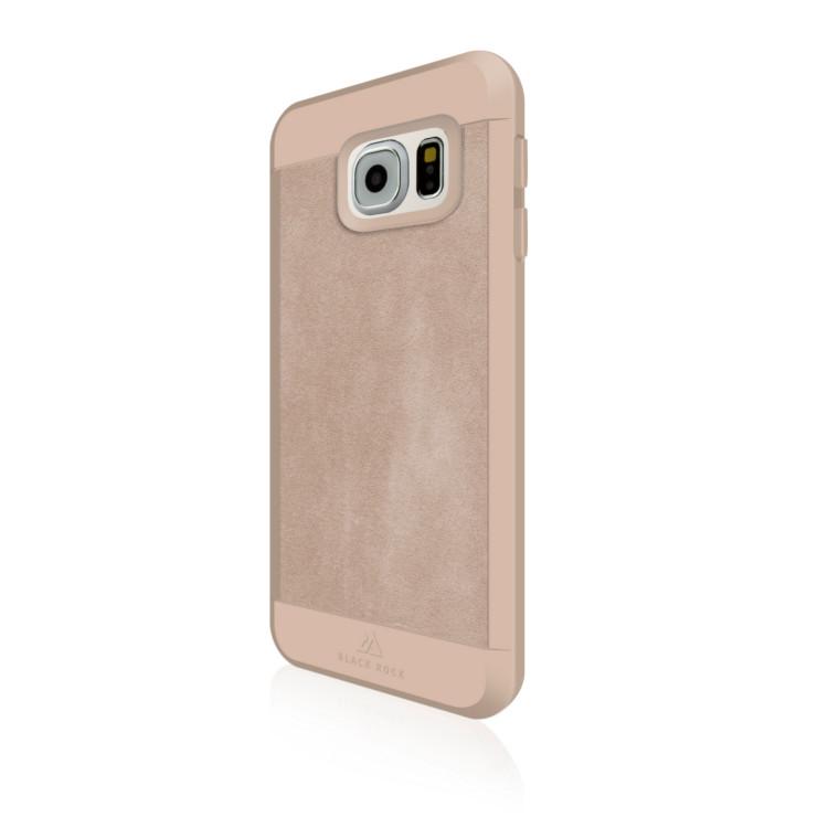 Original Black Rock Galaxy S7 Material Case Suede Nude