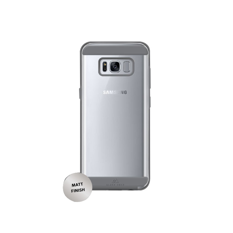Original Black Rock Air Case Samsung Galaxy S8 Clear / Silver