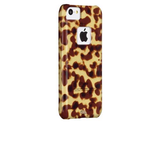 Original Case-Mate iPhone 5C Tortoiseshell - Brown
