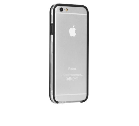 Original Case-Mate iPhone 6 Tough Frame - Clear/Black