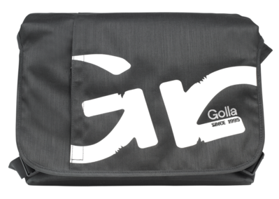"Original Golla Universal Messenger Bag 16""  Fanata Dark Gray Retail"