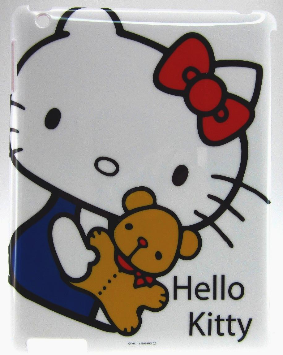 Original Hello Kitty Jacket  Ipad 2 Teddy Bear White Retail