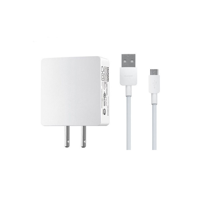 Original Huawei Travel Charger Micro USB 2AMP Power Plug with Data Cable Bulk
