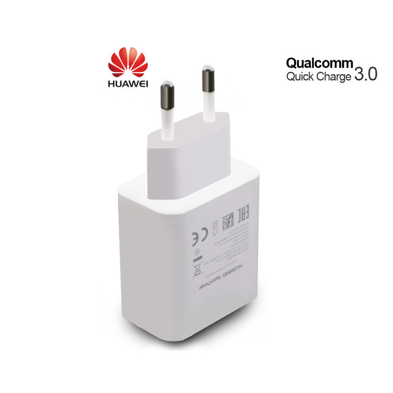 Original Huawei Travel Charger SUPER Charge 5AMP Power Plug AP81 Round Pins ( No Cable ) White - Retail