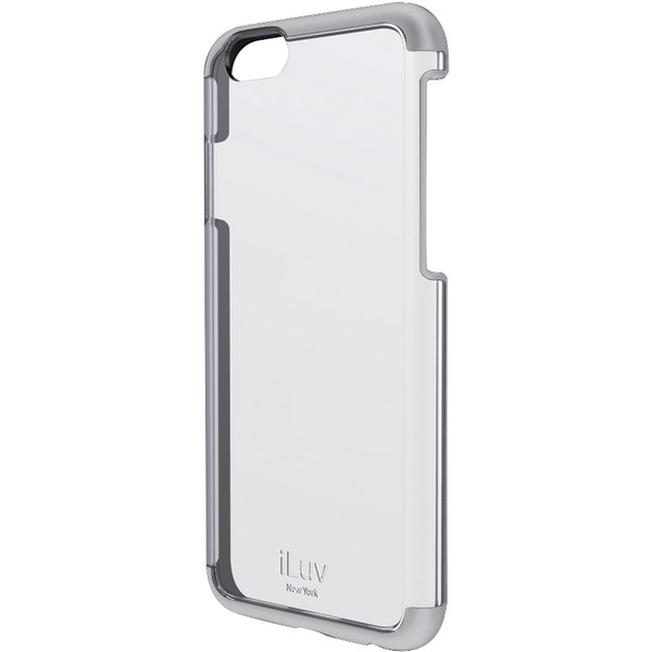 Original iLuv Case  iPhone 6 Vyneer - Dual material case White