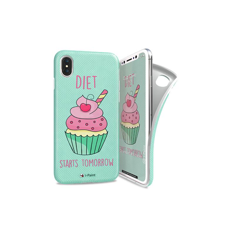 original-i-paint-case-iphone-x-soft-case-cup-cake