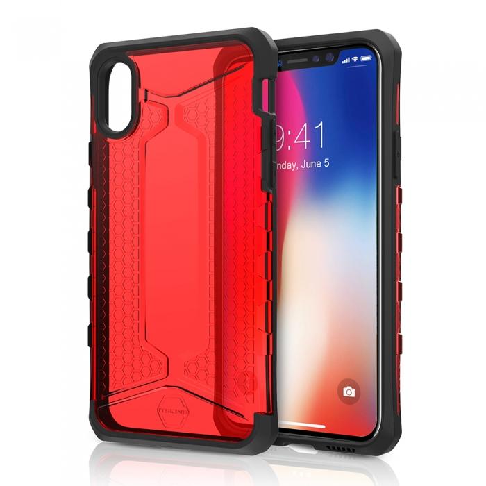 Original ITSKINS case Octane iPhone X Red Retail