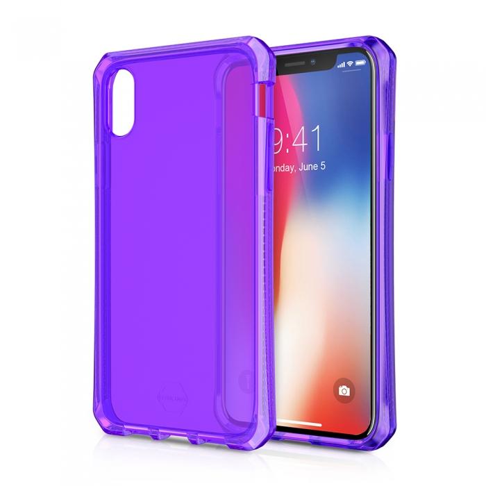 Original ITSKINS case Spectrum iPhone X Purple Retail