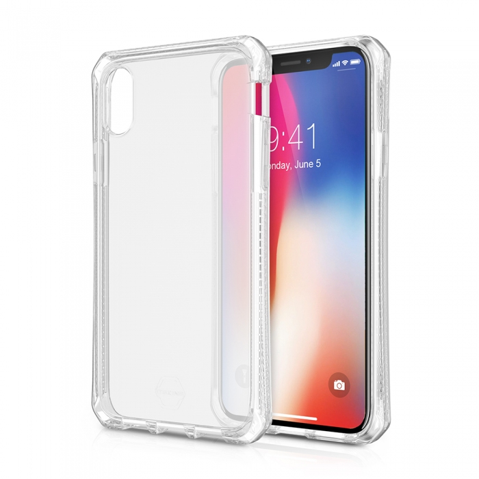 Original ITSKINS case Spectrum iPhone X Transparent Retail