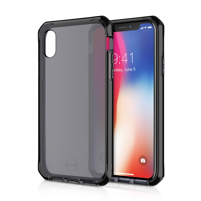 Original ITSKINS case Supreme iPhone X Black Retail
