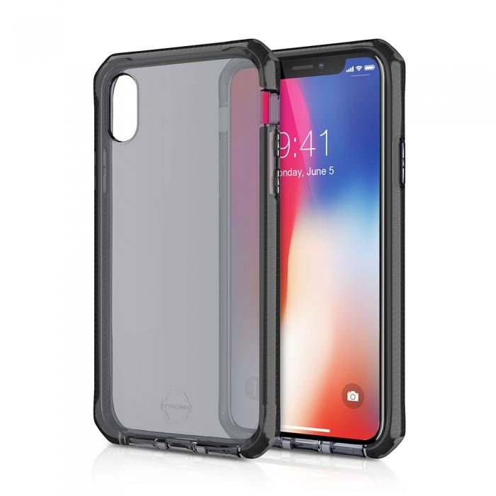 Original ITSKINS case Supreme iPhone X Light Grey Retail