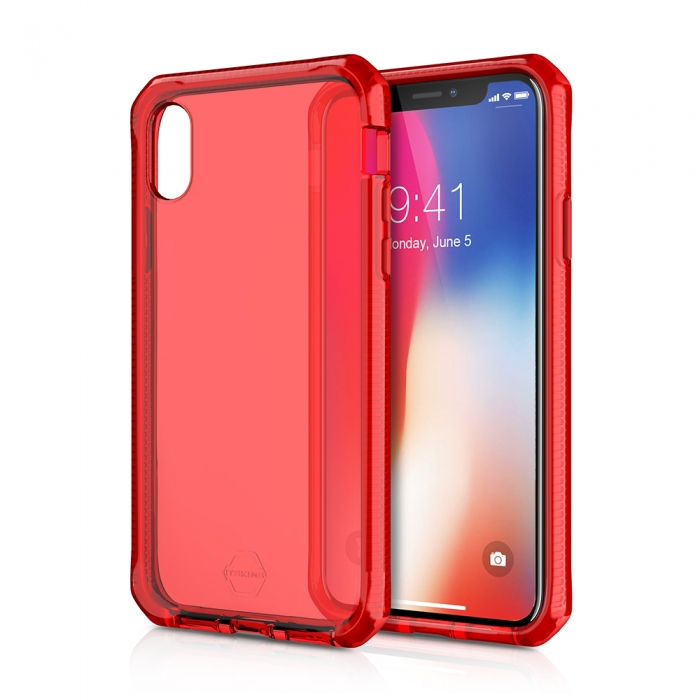 Original ITSKINS case Supreme iPhone X Red Retail