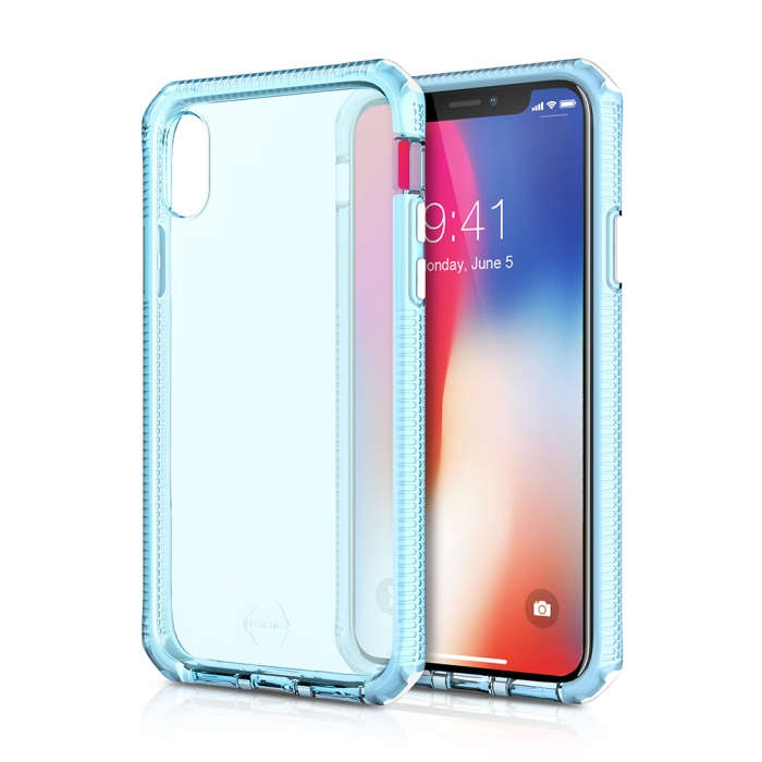 Original ITSKINS case Supreme iPhone X white and centurion blue Retail