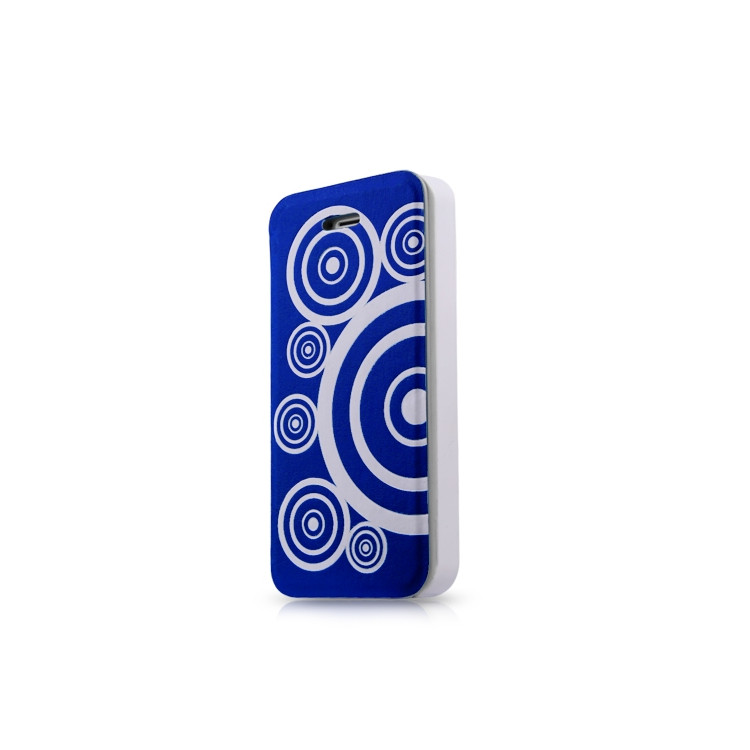 Original ITSKINS Case Angel Folio iPhone 5C Blue/White Retail