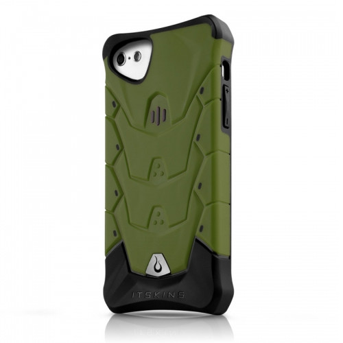 Original ITSKINS Case Inferno iPhone 5C Green Retail