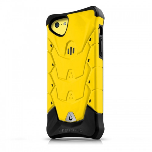 Original ITSKINS Case Inferno iPhone 5C Yellow Retail