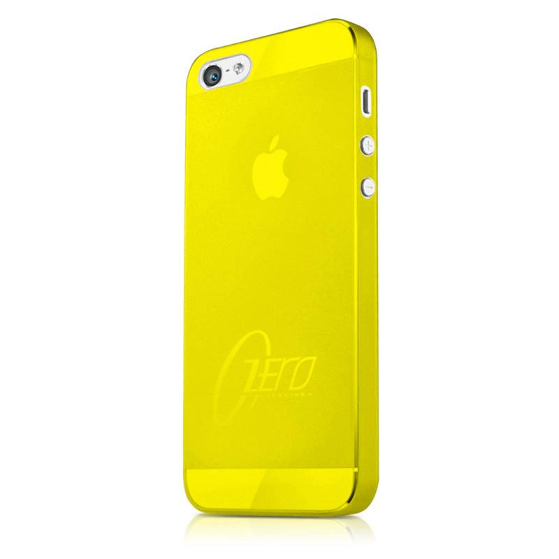 Original ITSKINS Case Zero.3 iPhone 5C Yellow Retail