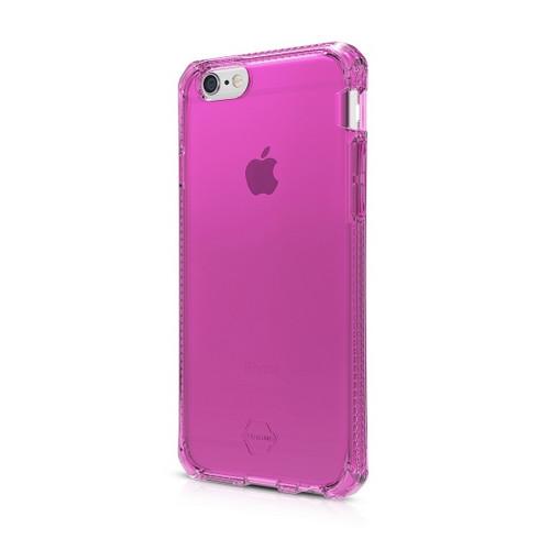 "Original ITSKINS Case Spectrum iPhone 6 Plus 5.5"" Clear Pink Retail"