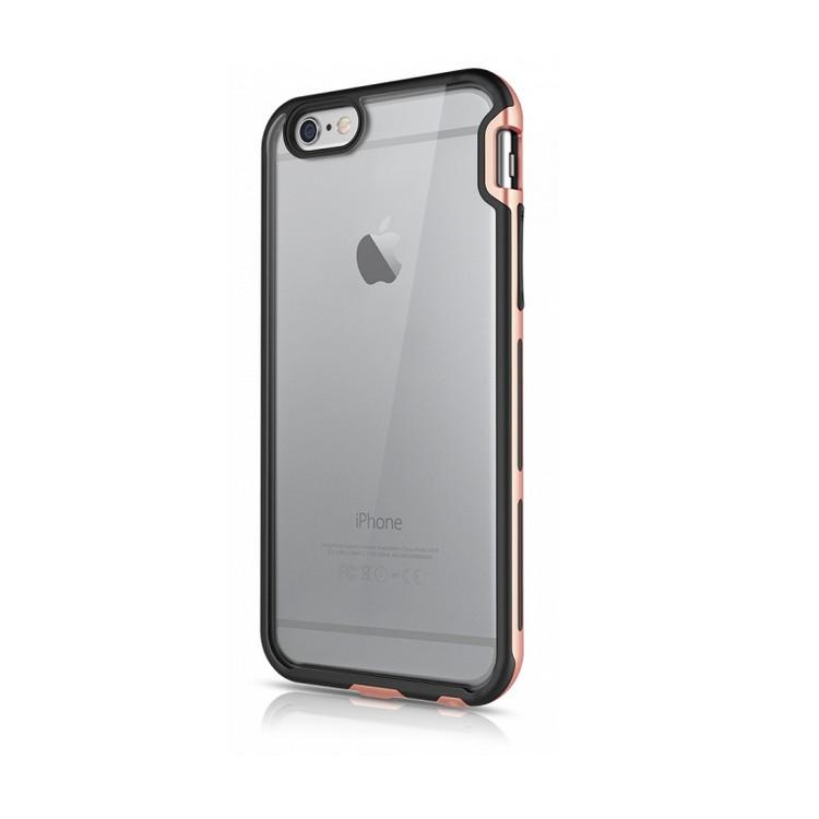 "Original ITSKINS Case Venum Reloaded  iPhone 6 Plus 5.5"" Clear / Black-Rose Gold Retail"