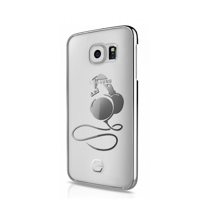 Original ITSKINS Case KROM Galaxy S7 DJ Silver Retail