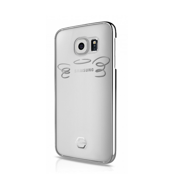 Original ITSKINS Case KROM Galaxy S7 Angel Silver Retail