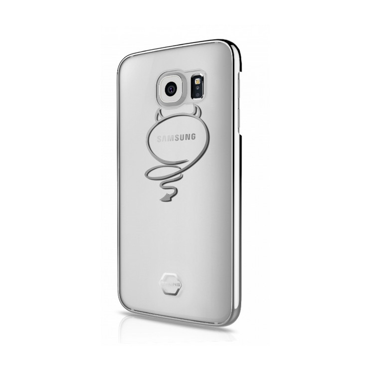 Original ITSKINS Case KROM Galaxy S7 Diablito Silver Retail