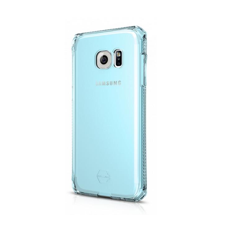 Original ITSKINS Case Spectrum Galaxy S7 Clear Light Blue Retail