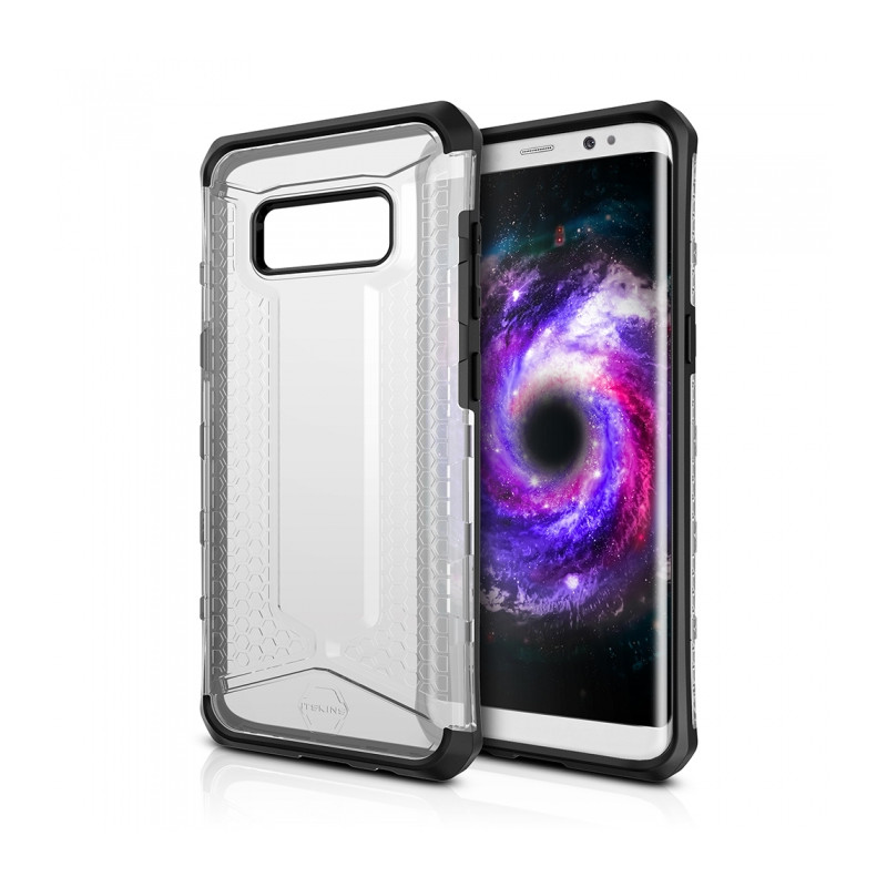 Original ITSKINS Case Octane Samsung Galaxy S8 Transparent Retail