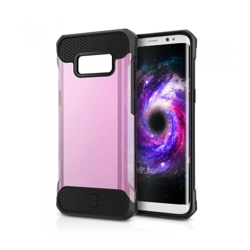 Original ITSKINS Case Spina Samsung Galaxy S8 Transparent Light Pink Retail