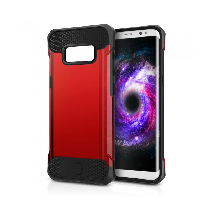 Original ITSKINS Case Spina Samsung Galaxy S8 Transparent Red Retail
