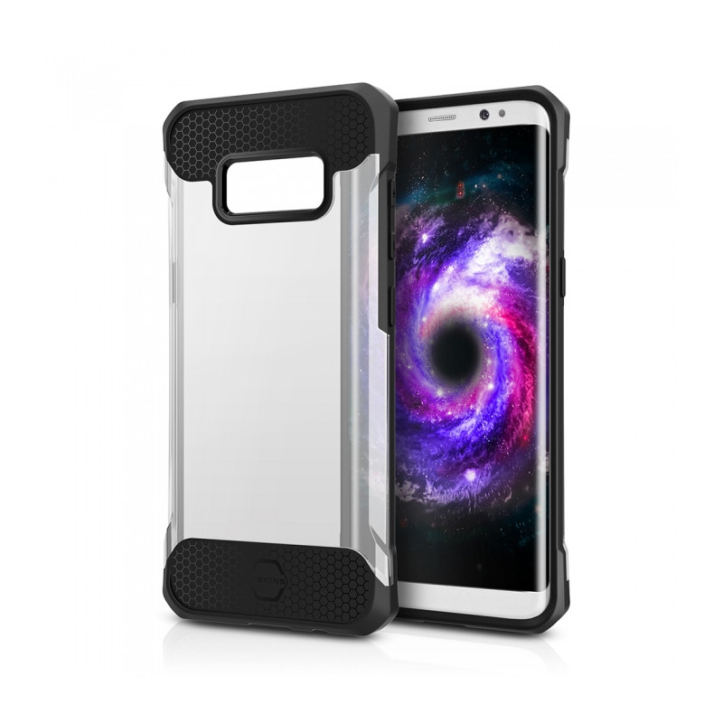 Original ITSKINS Case Spina Samsung Galaxy S8 Transparent Retail