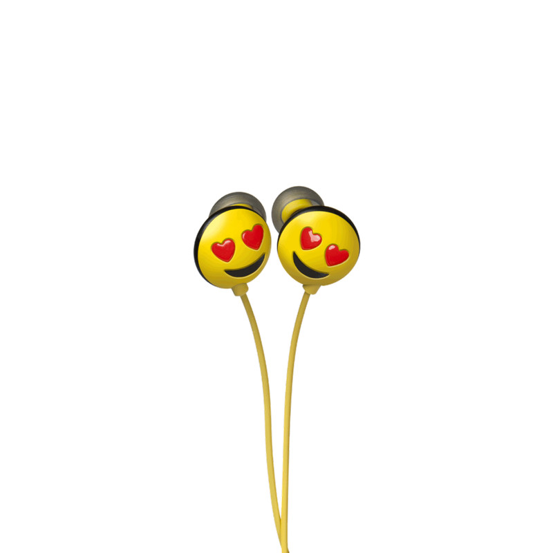 Original JAMOJI II Love Struck In-Ear Headphones Pack of 5
