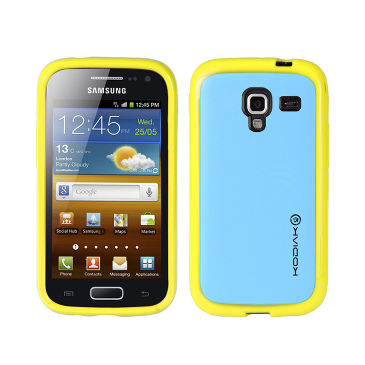 original-kodiak-fuzion-case-samsung-galaxy-ace-2-i8160-yellow-light-blue-with-anti-fingerprint-protector-in-retail