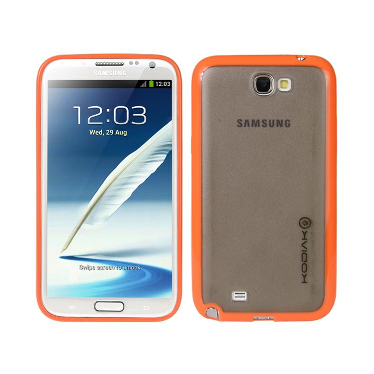 original-kodiak-fuzion-case-samsung-galaxy-note-ii-n7100-orange-smoke-with-anti-fingerprint-protector-in-retail
