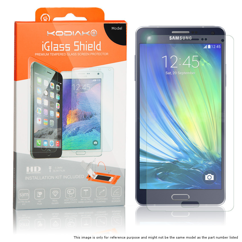 Original Kodiak Screen Protector Samsung Galaxy S8 Curved PET Shield HD / Applicator included Retail