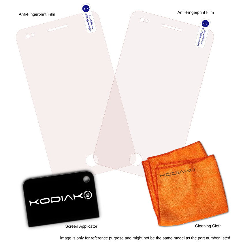Original Kodiak Screen Protector Sony Xperia T iProtect 2 pcs Package (Anti-Finger Prints/Anti-Glare)