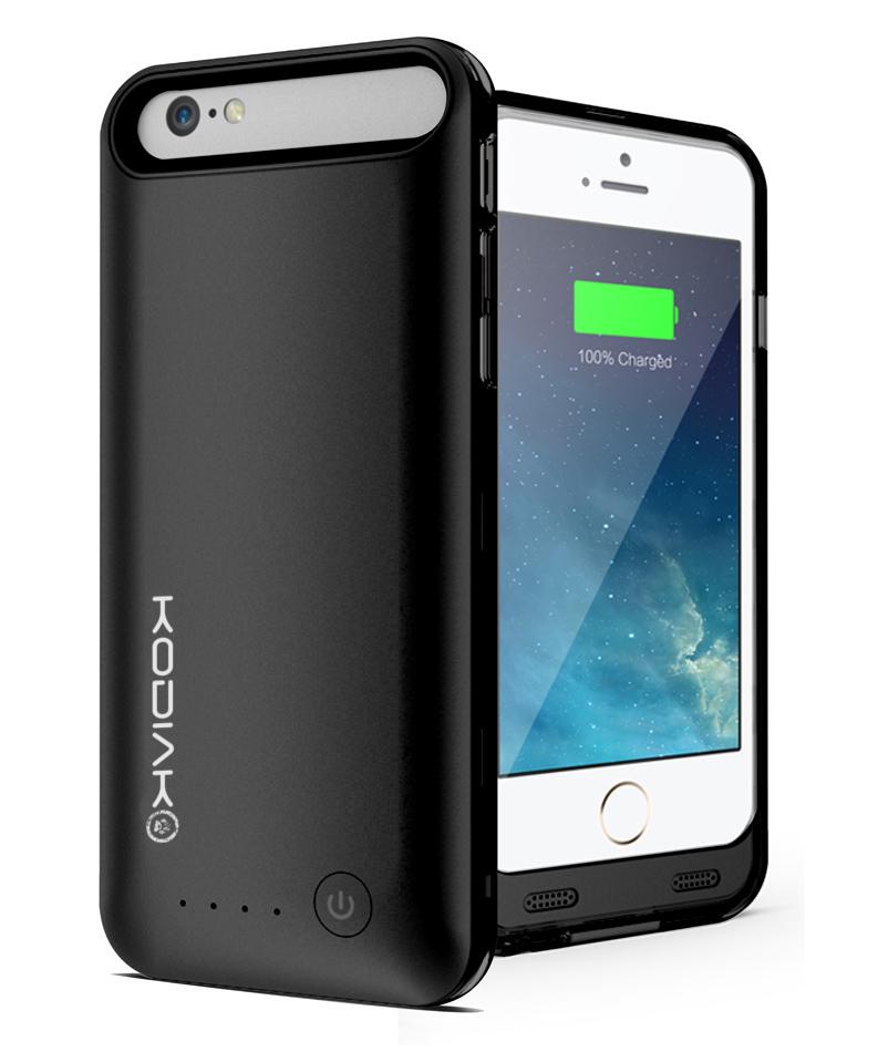 "Original Kodiak Power Suit Case  iPhone 6  / 6S 4.7"" MFI 3100mAh Black Retail"