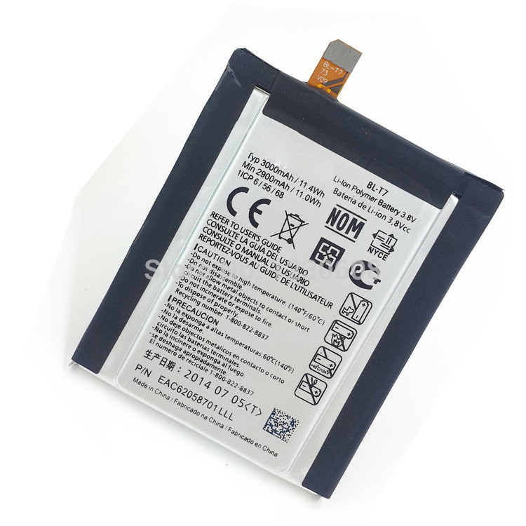 Original LG Battery for LG Optimus G2 D800-D801-D802-LS980-VS980 Bulk