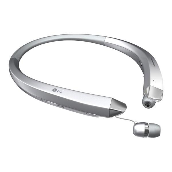Original LG Bluetooth Headset HBS-910 TONE INFINIM Stereo Silver Retail