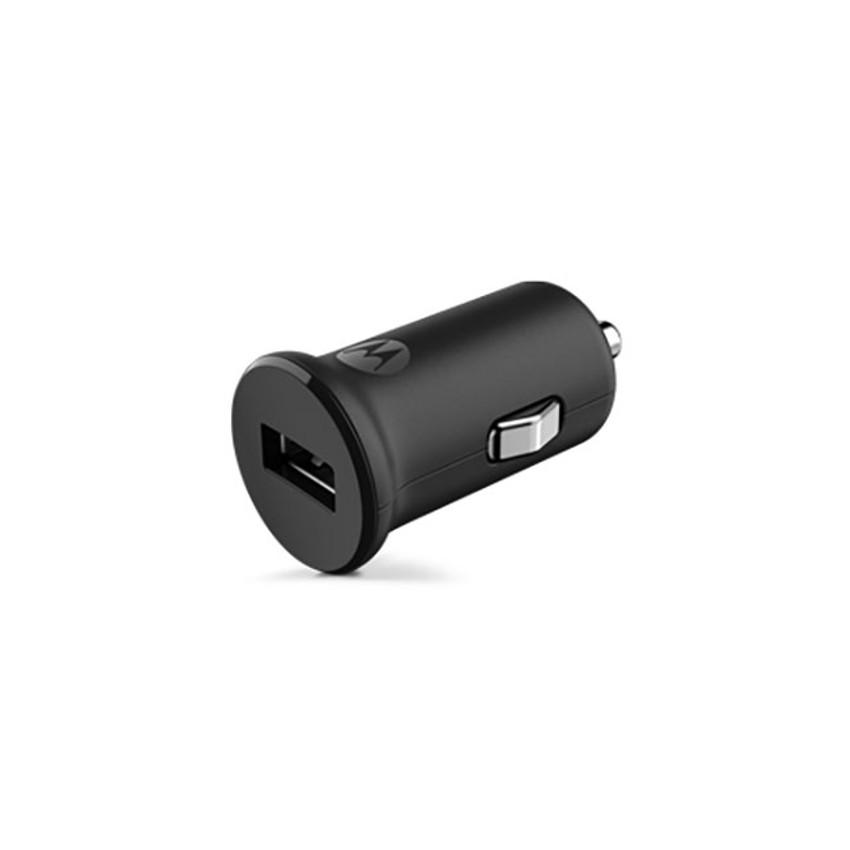 Original Motorola Car Charger Micro USB TurboPower 15 W/1USB Port Black Retail