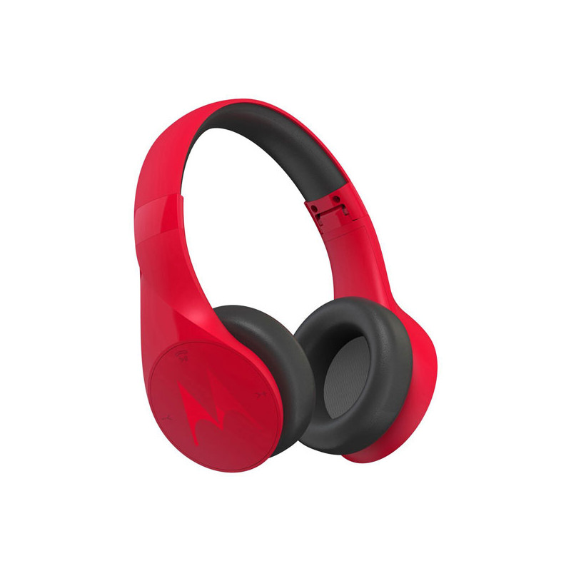 Original Motorola Bluetooth Wireless Headphones Pulse Escape Stereo Multipoint / Noise Isolation Red Retail